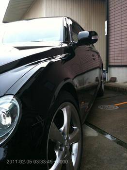 2011年3回目の洗車。(2011.2.5)