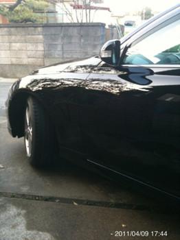 2011年6回目の洗車(2011.4.9)