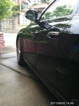 2011年9回目の洗車(2011.6.5)